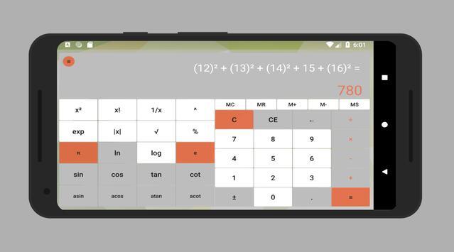 Calculator without advertising screenshot 3