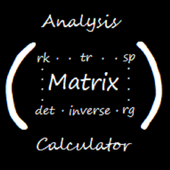 Matrix Calculator and Analysis icon
