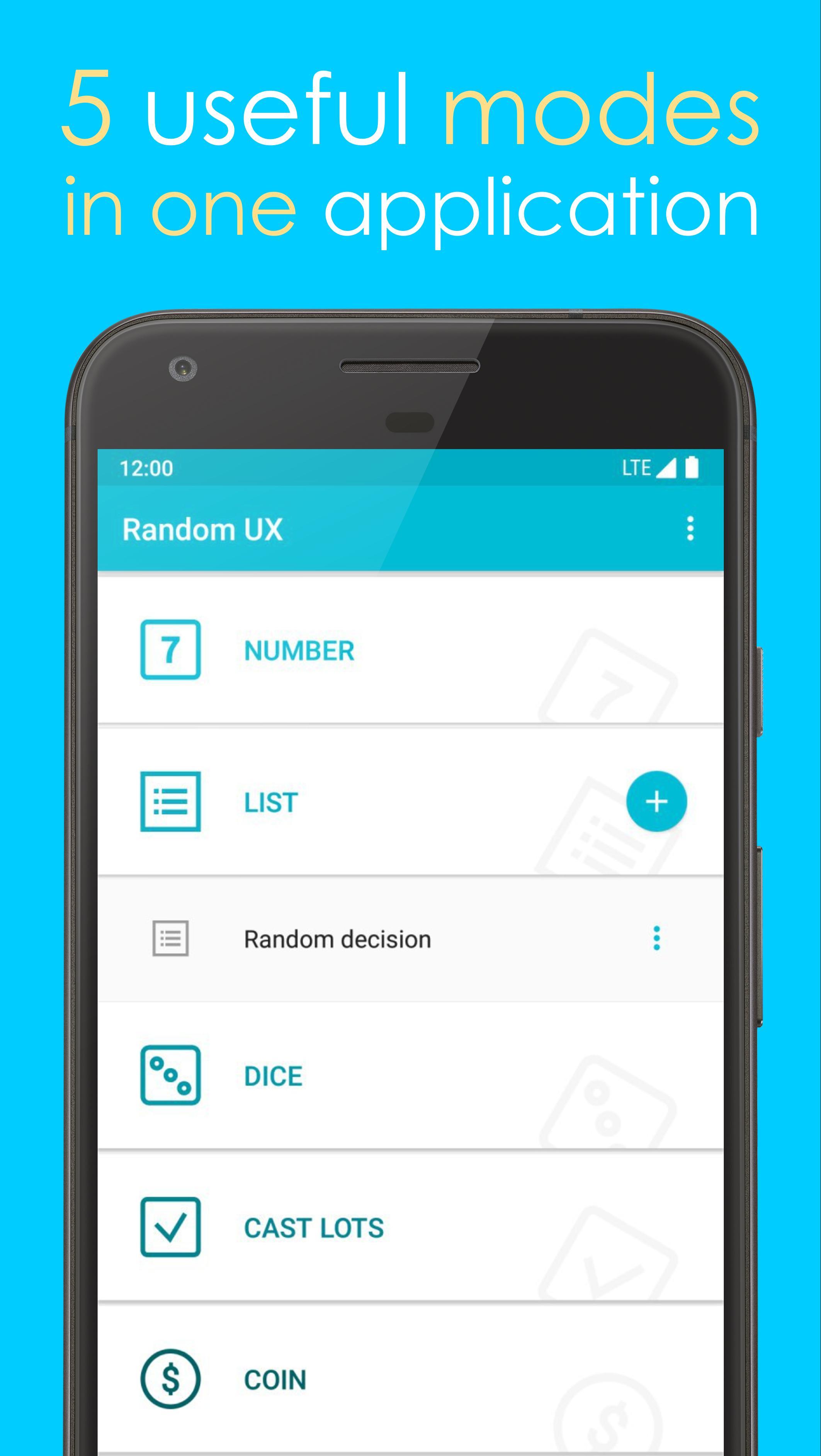 Random number generator for Android - APK Download