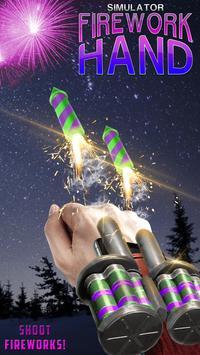 Firework Hand Simulator poster