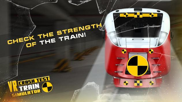 VR Crash Test Train Simulator poster