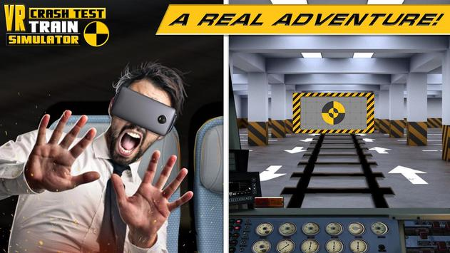 VR Crash Test Train Simulator screenshot 1