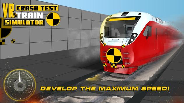 VR Crash Test Train Simulator screenshot 8
