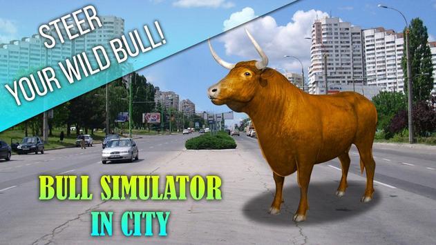 Bull Simulator In City apk screenshot