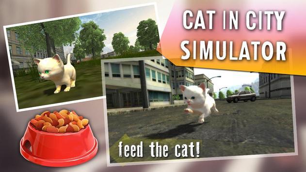 Cat In City Simulator poster
