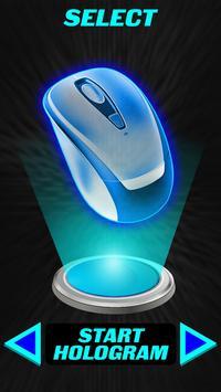 Hologram 3D Mouse Joke poster