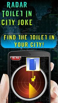 Radar Toilet In City Joke apk screenshot