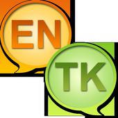 English Turkmen Dictionary icon