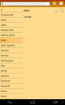 English Haitian Creole dict screenshot 14