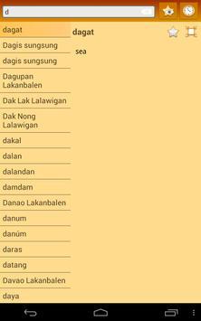 English Pampanga Dictionary apk screenshot