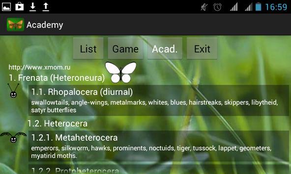 Butterfly Academy apk screenshot
