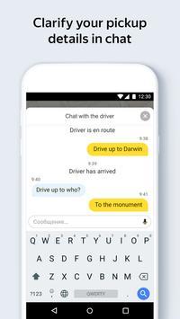 Яндекс.Такси — заказ онлайн скриншот приложения