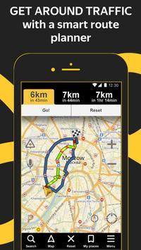 Yandex.Navigator الملصق