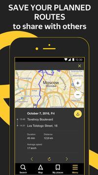 Yandex.Navigator apk تصوير الشاشة