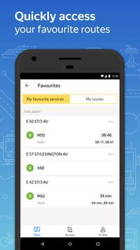 Яндекс.Транспорт скриншот приложения