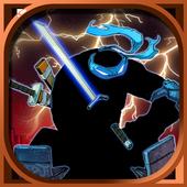 Turtle and Ninja -Samurai kill icon