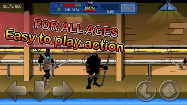Turtle and Ninja -Samurai kill apk screenshot