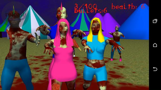 rave zombies(indie game) poster