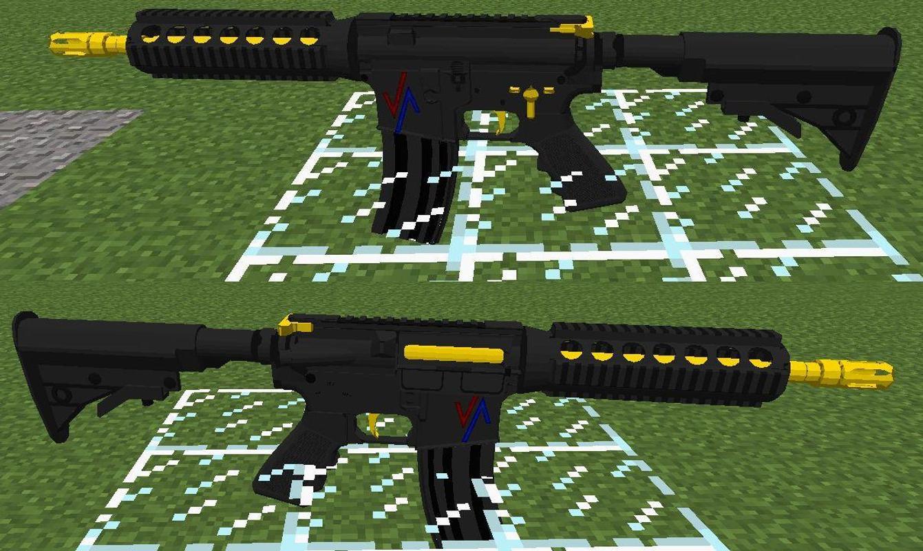 скачакть майнкрафт 1.7.10 с модами на оружиея/военая сборка #9