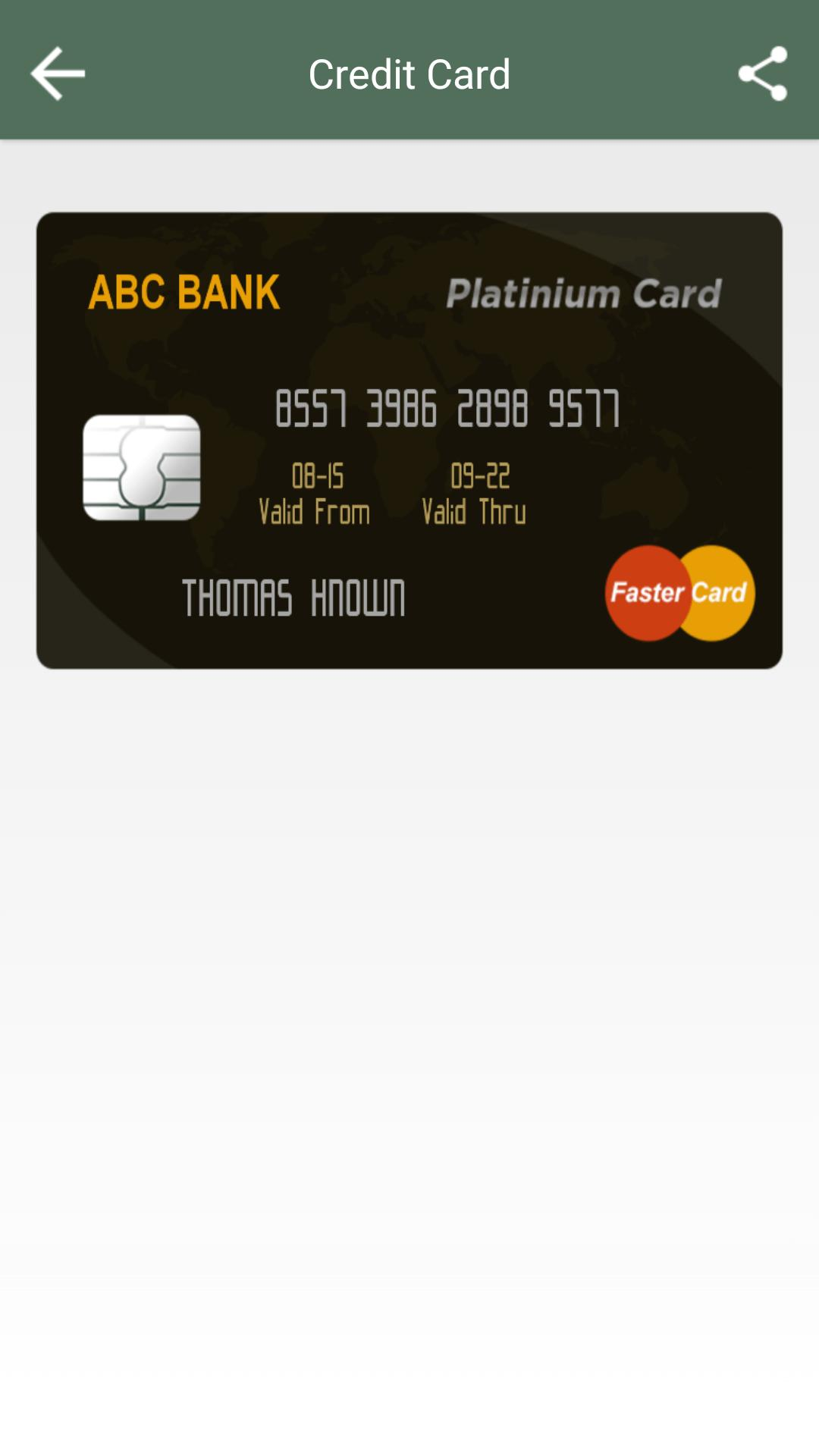 Fake Credit Card Maker for Android - APK Download