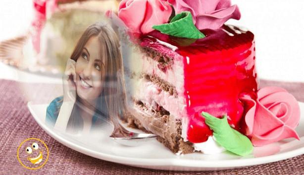 Birthday Cake Photo Frame screenshot 2