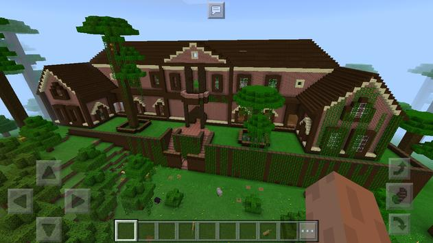 «Rugged Jungle Mansion». Map for Minecraft screenshot 1