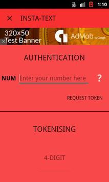 InstaText apk screenshot