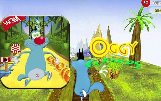 Subway Oggy Adventure apk screenshot