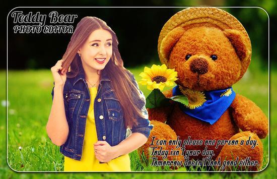 Teddy Bear Photo Editor screenshot 2
