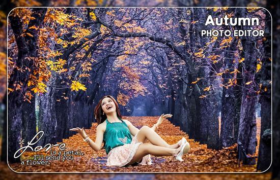 Autumn Photo Editor poster