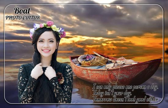 Boat Photo Editor screenshot 2