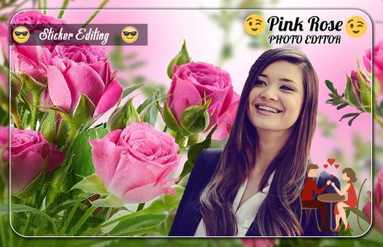 Pink Rose Photo Editor screenshot 3
