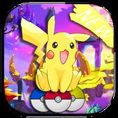 Super Pikachu jump icon
