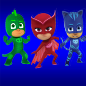 Run pj Hero Masks Adventures icon