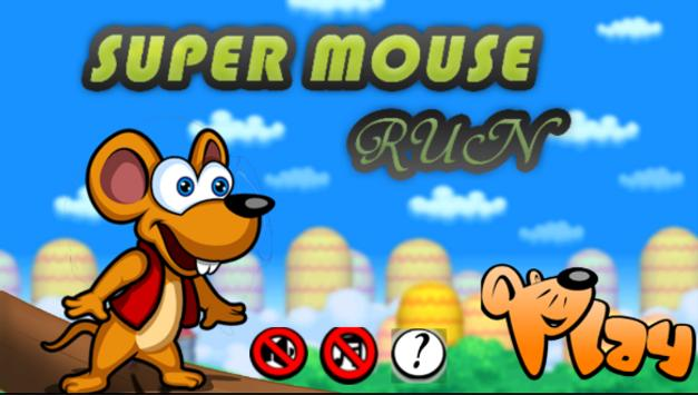 super  mouse run poster