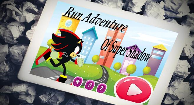 Run Adventure Of Shadow Sonic apk screenshot