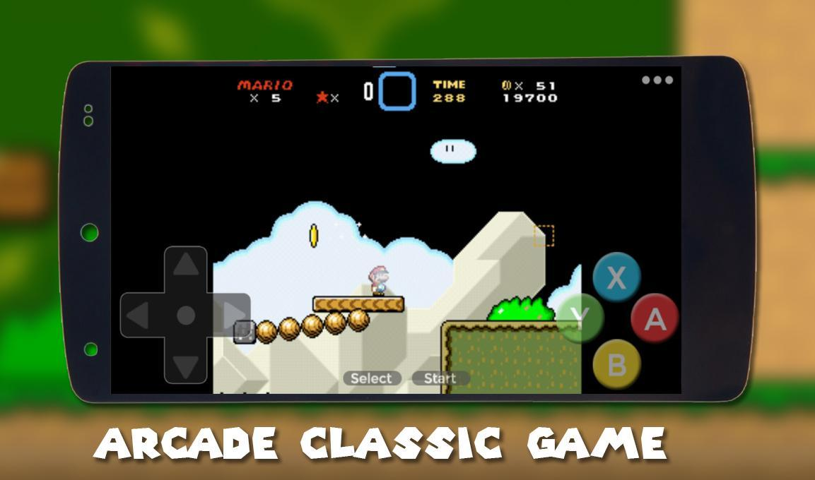 NEW Super Mario World, SNES Classic run & Retro for Android - APK