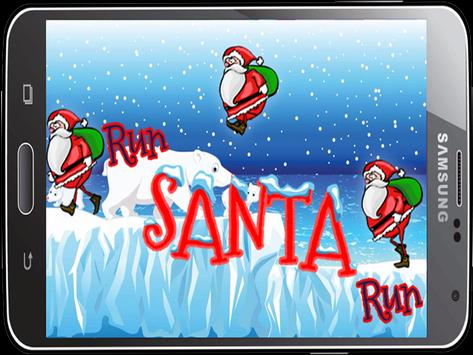 jump santa Run adventures poster