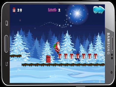jump santa Run adventures apk screenshot