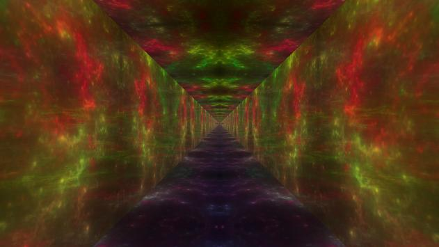 Runner in the UFO - Music visualizer & Live WP apk screenshot