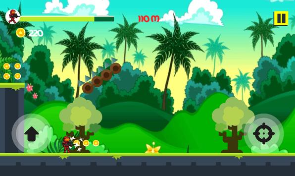 Robot Run Run - Jungle trap apk screenshot