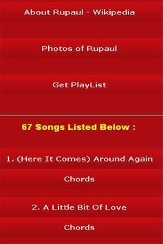 All Songs of Rupaul screenshot 2