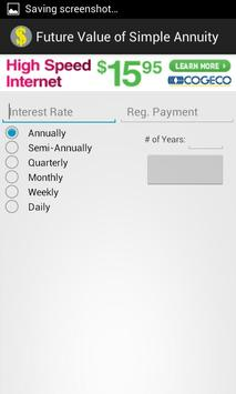 Simple Annuities apk screenshot