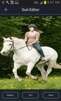 Horse Riding Photo Suit Editor screenshot 2