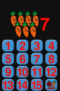 Toddler Numbers poster