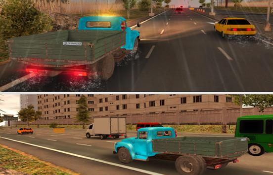 Russian Lorry Driving screenshot 2