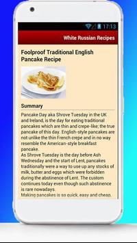 White Russian Recipes screenshot 2