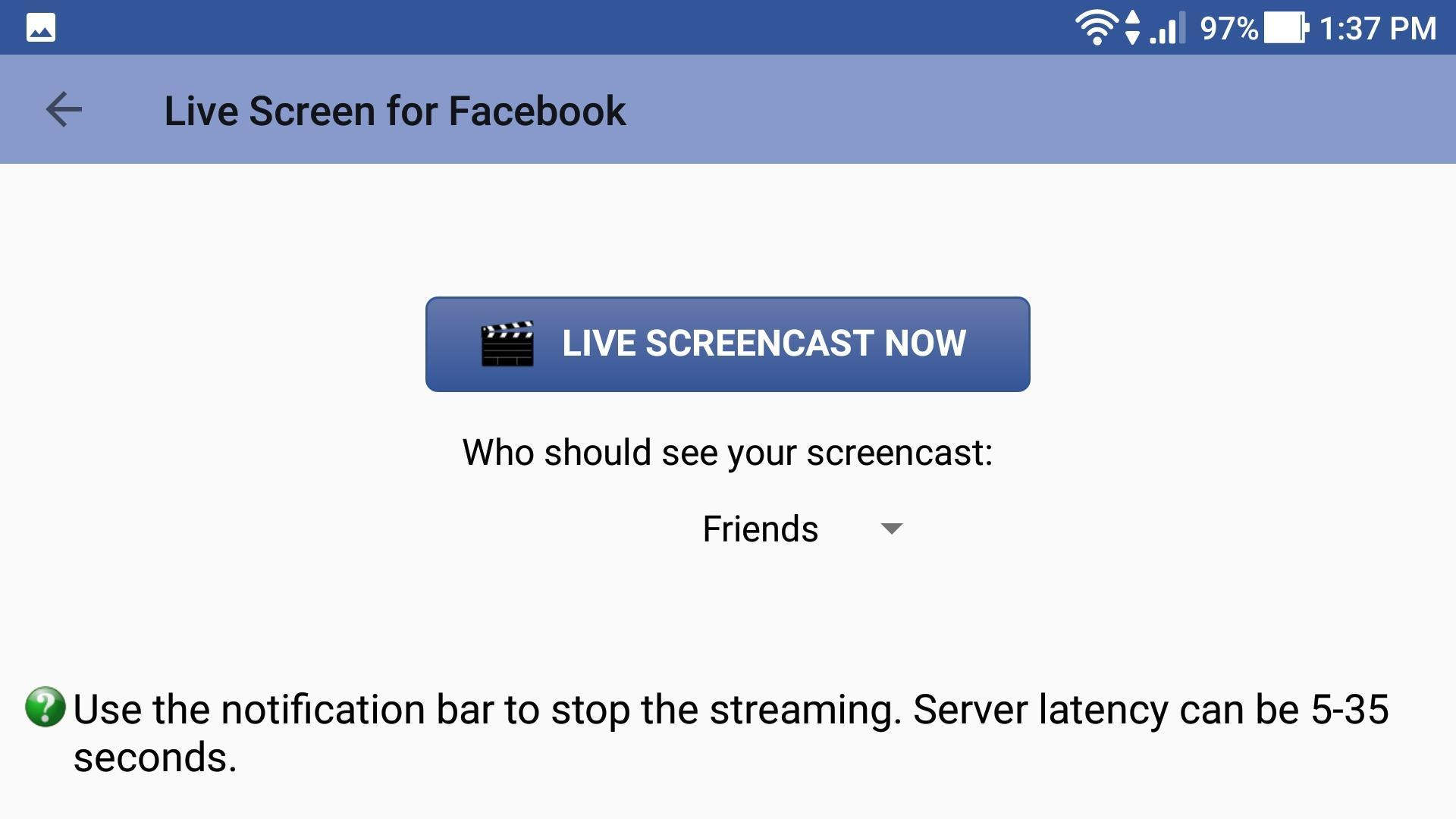 How To Live Stream Roblox On Facebook Live Screen For Facebook For Android Apk Download