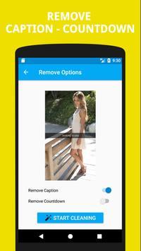 Remove Caption for Snapchat screenshot 1