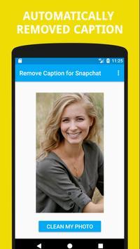 Remove Caption for Snapchat screenshot 2